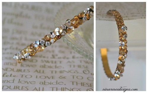 {Golden Sparkle} Wedding Style by Nina Renee Designs