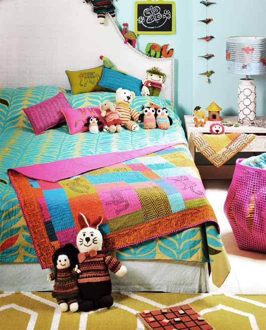 bright and cheerful kids room