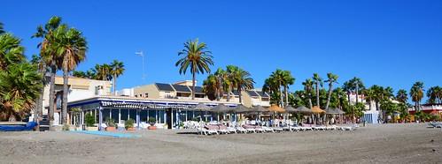Almuñeca Beach by Ginas Pics