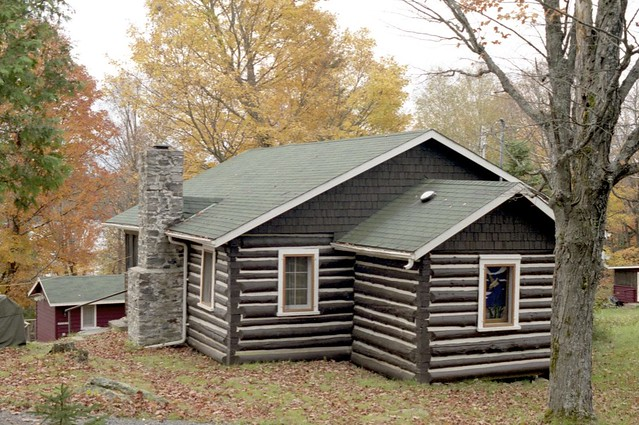 One of many Billie Bear Cabins