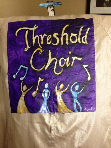 """Threshold Choir"" a jacket for Ellen Rose"