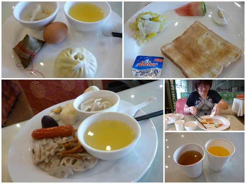 Breakfast buffet at Guanghua Hotel Hangzhou