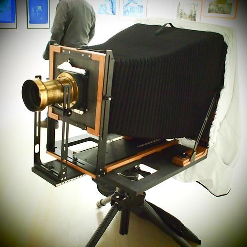 8 x 10 camera