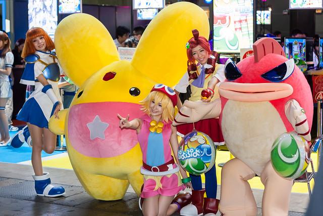 Tokyo Game show 2013 at Makuhari Messe