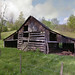 Crooksville Ohio Log Barn - Muskingum County