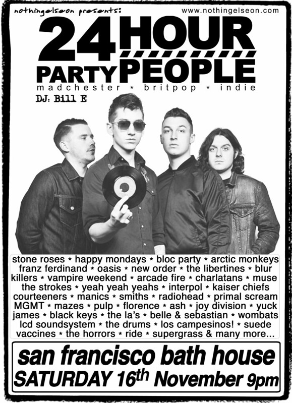 24 Hour Party People, 16 November
