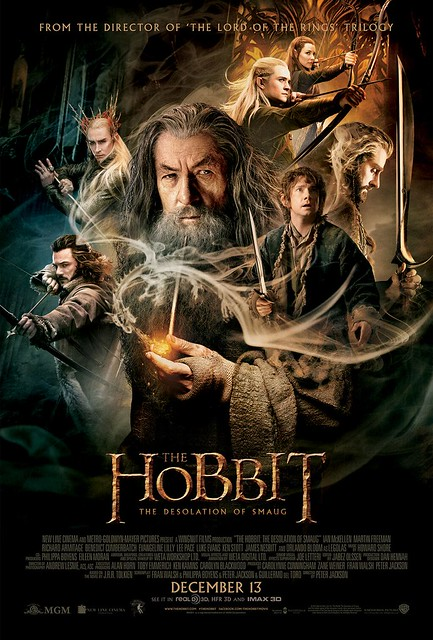 The Hobbit - The Desolation of Smaug - Poster