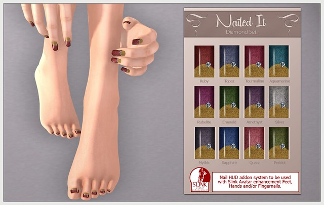 Nailed It - Realistic Inworld Picture - Diamond Set - Ruby