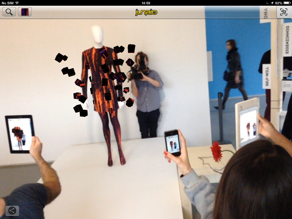 Augmented reality fashion