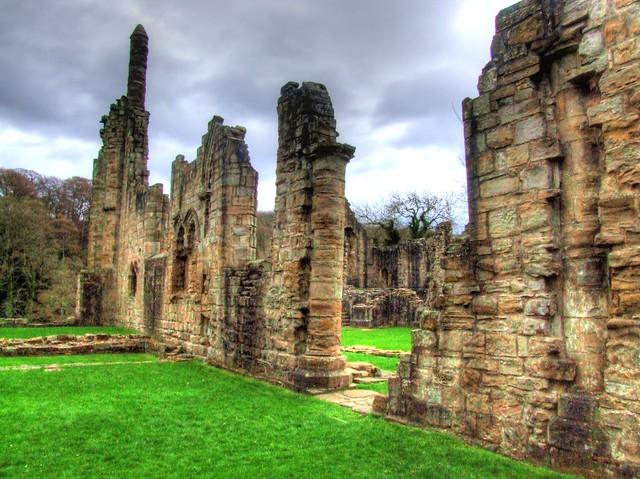 Durham Visit 2013 04 127 Finchale Abbey HDR
