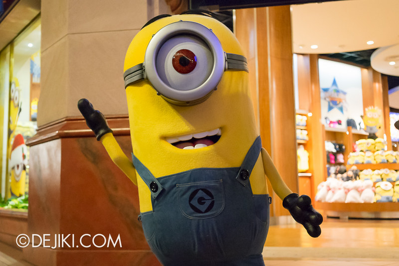 Despicable Me Minions at Universal Studios Singapore