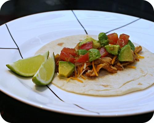 Green Chile Pork Tacos