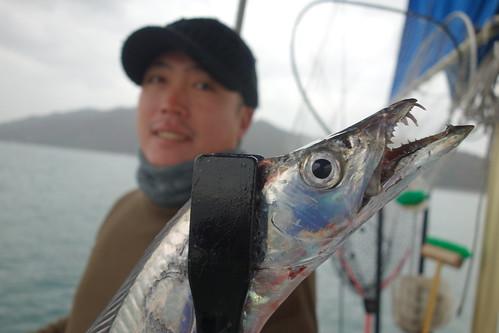 ヒデッキー&太刀魚