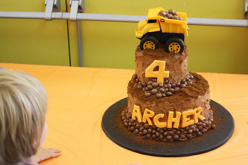 Dirt Cake for Archer