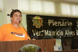 Reverendo Márcio: uma justa homenagem ao deputado Paulinho da Força com o título de cidadão itaquaquecetubense