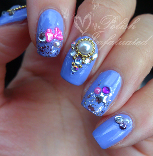 bejewelled nails