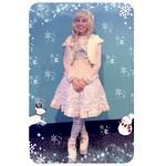 Frozen-inspired coord for International Lolita Day! ☆彡 ✽(′ॢᵕ ‵ *ॢ)✽ஐ✯♡