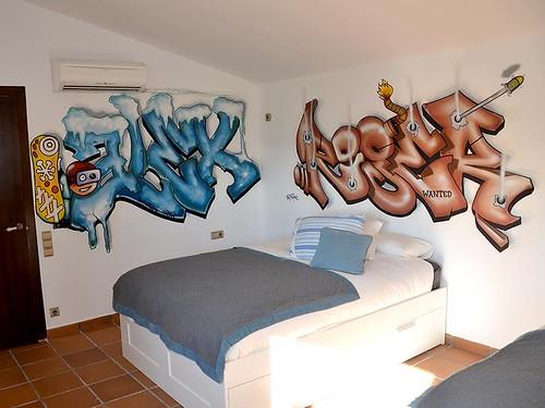 Flickriver photoset 39 habitaciones juveniles 39 by www berok es - Graffitis para habitaciones ...