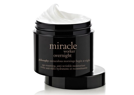 Review, Ingredients: philosophy Miracle Worker Overnight Age-Resetting, Anti-Wrinkle Moisturizer - How To Get Smoother Skin, Less Fine Lines