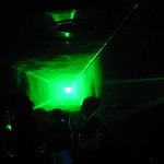 Square laser at the spinnaker