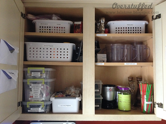 catchall cupboard after