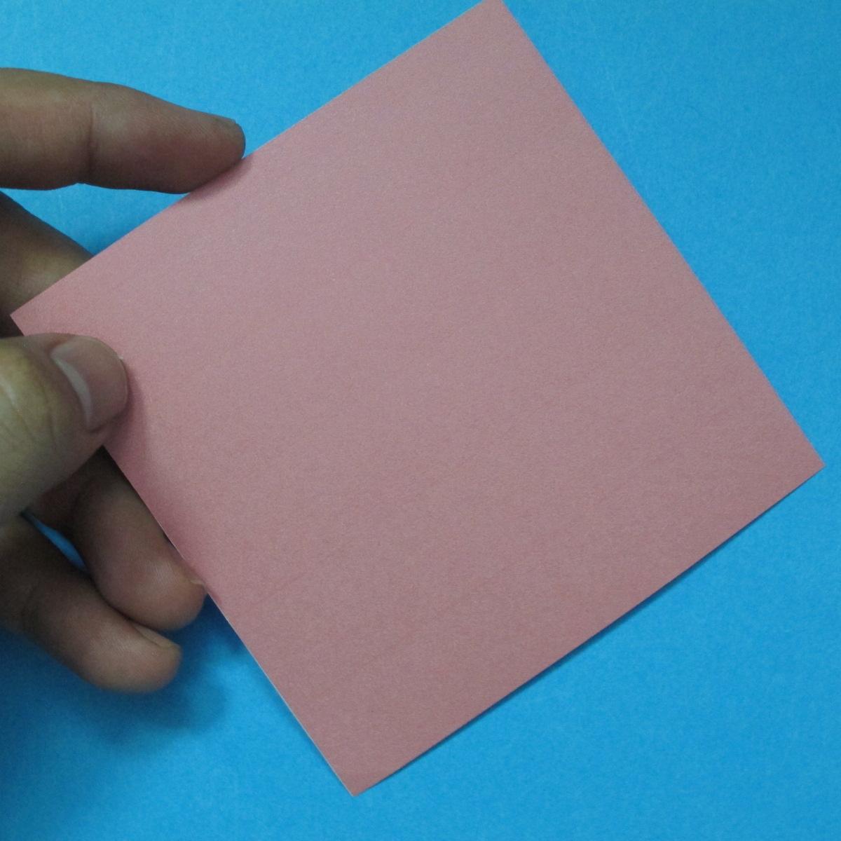 วิธีการพับกระดาษเป็นดอกไม้แปดกลีบ 001