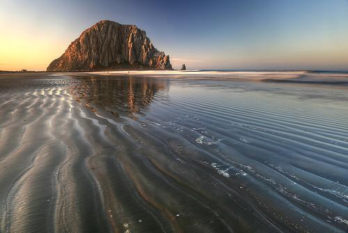 california morning usa pacificocean morrobay