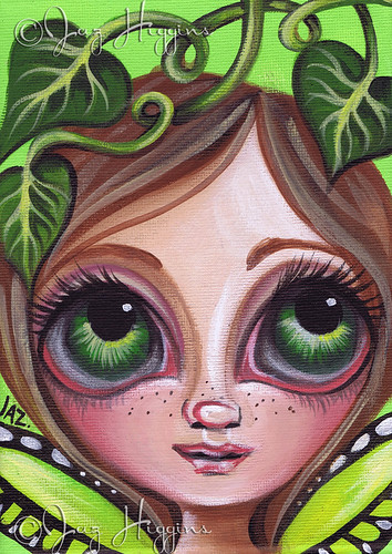 """Little Green Vine Fairy"""