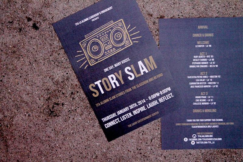 tfa la alumni story slam 2014