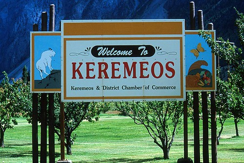 Keremeos, Similkameen Valley, South Okanagan, British Columbia, Canada