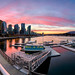 Coal Harbour Sunset by Alexis Birkill Photography