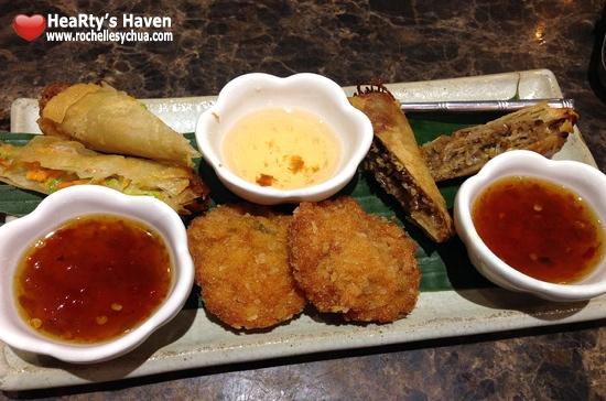 Tamarind Appetizer Platter