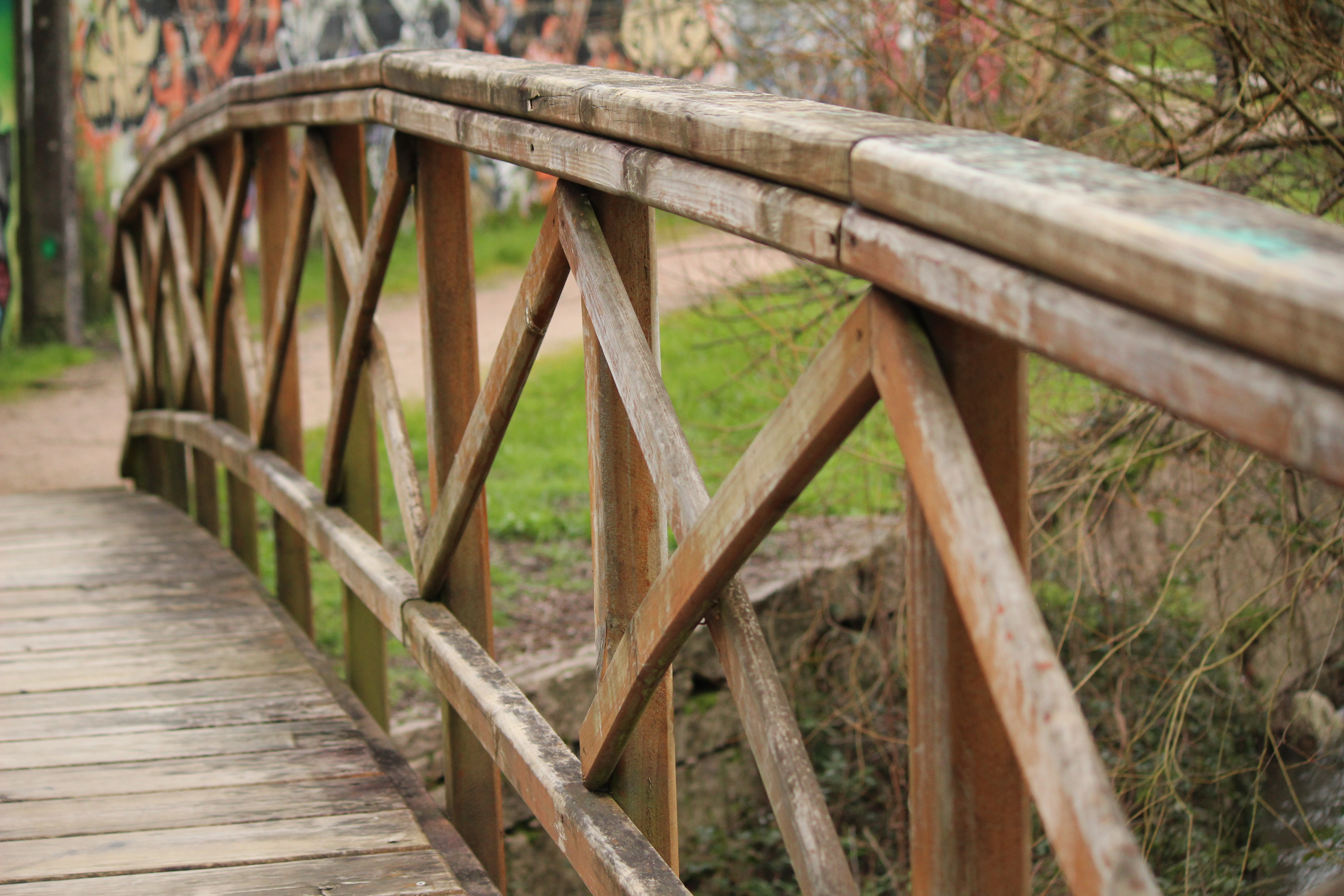 puente madera