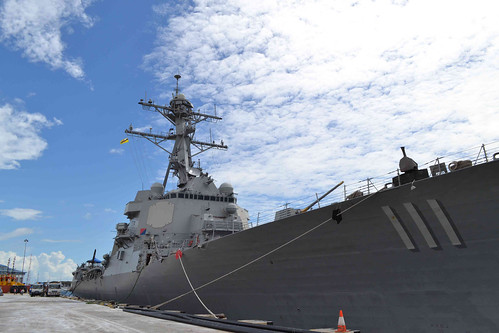 MUARA, Brunei – The Arleigh-Burke class guided-missile destroyers USS Spruance (DDG 111) arrived in Muara, Brunei for a port visit as part of her maiden deployment to the Western Pacific.