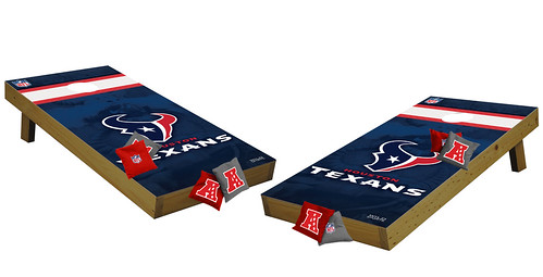 Houston Texans Premium Cornhole Boards