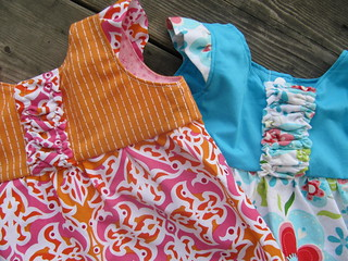 Hopscotch Tunic from Peek-a-Boo Pattern Shop.