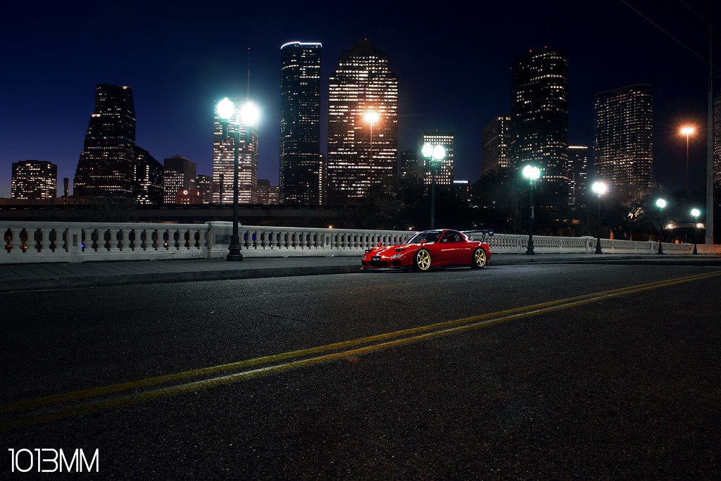 A practice shot of downtown with one of our FD's