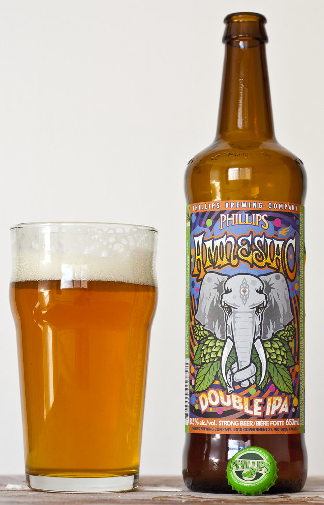 Review: Phillips' Amnesiac Double IPA