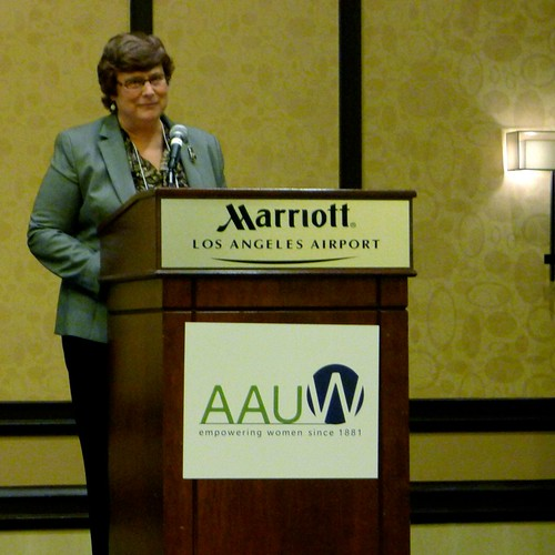 Katy Dickinson at AAUW
