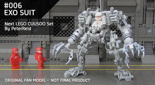 LEGO CUUSOO Exo Suit