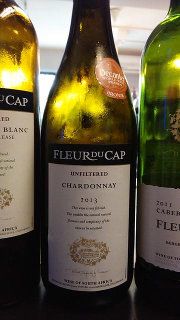 Fleur du Cap Chardonnay Unfiltered 2013