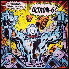 """The deadly deathless dreadnought that is -- Ultron-6!"" #comicbooks"