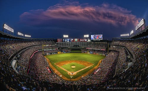 A Storm is Brewing - Globe Life Park - Arlington, TX