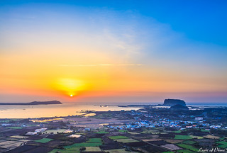 Peaceful Sunrise to Jeju Island, South Korea