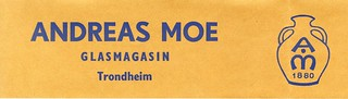 Andreas Moe Glasmagasin (1957)