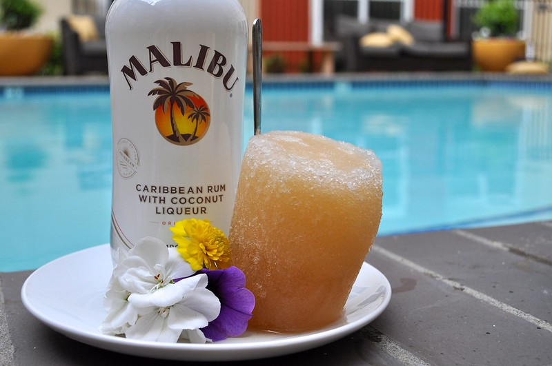 Sweet Tea and Malibu Popsicle