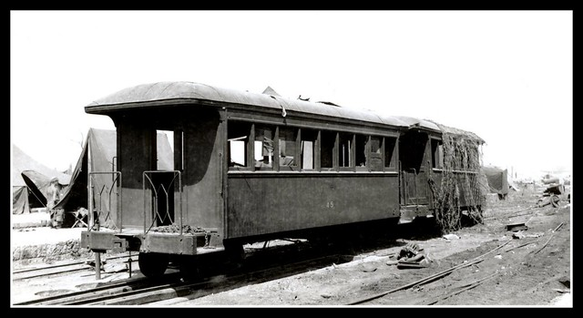 THE OKINAWA RAILROAD -- Coach Car No.45 Naha, Never to Carry Passengers Again