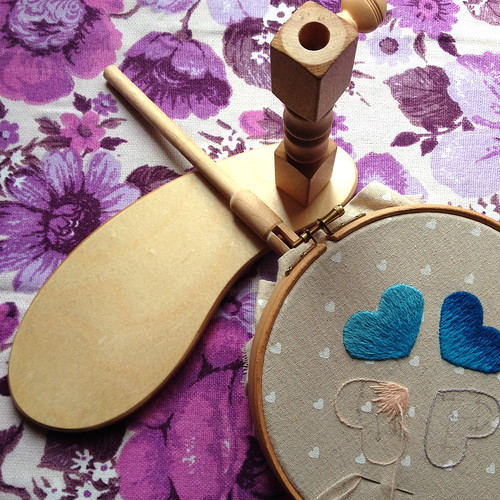 Tools & Toys Tuesday: Embroidery Seat Frame