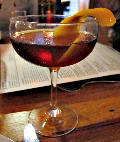 Republique cocktail in LA