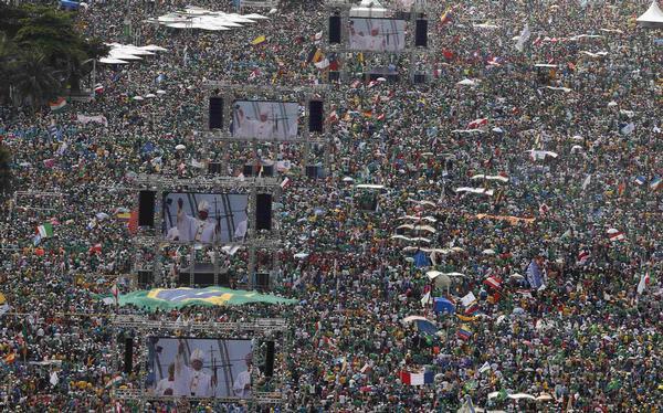 JMJ Brasil, número de católicos en el mundo